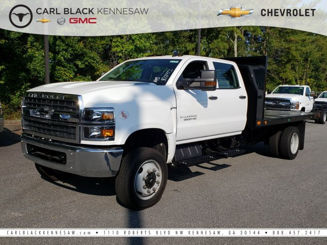 2019 Silverado Medium Duty Crew Cab DRW 4x4, Southern Coach Dump Body #M190093 - photo 1