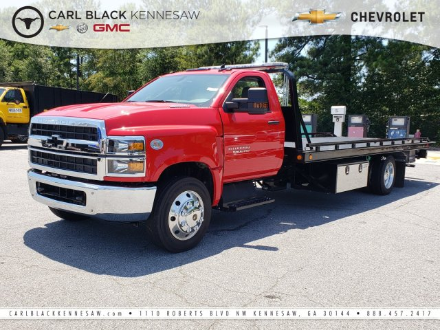 2019 Silverado Medium Duty Regular Cab DRW 4x2, Miller Industries Rollback Body #M1990015 - photo 1