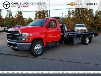 2019 Chevrolet Silverado Medium Duty Regular Cab DRW RWD, Kilar Fabrication Steel 10 Series Rollback Body #M1990024 - photo 1