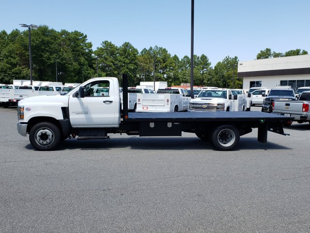 2019 Silverado Medium Duty Regular Cab DRW 4x2, Womack Truck Body Platform Body #M1990032 - photo 3