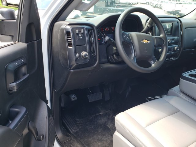 2019 Silverado Medium Duty Regular Cab DRW 4x2, Womack Truck Body Platform Body #M1990032 - photo 5
