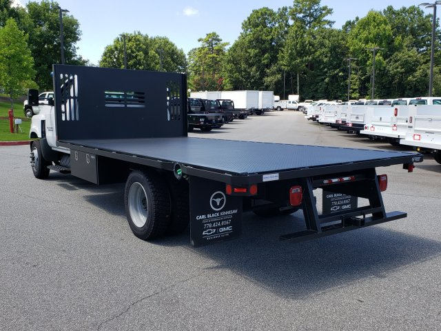 2019 Silverado Medium Duty Regular Cab DRW 4x2, Womack Truck Body Platform Body #M1990032 - photo 1