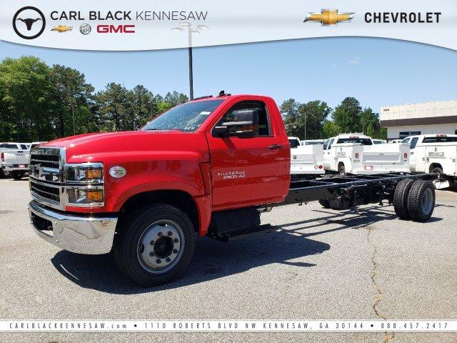 2019 Chevrolet Silverado Medium Duty Regular Cab DRW 4x2, Cab Chassis #M1990036 - photo 1