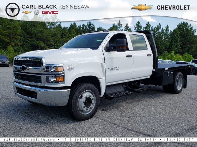 2019 Silverado Medium Duty Crew Cab DRW 4x2, Knapheide Platform Body #M1990055 - photo 1