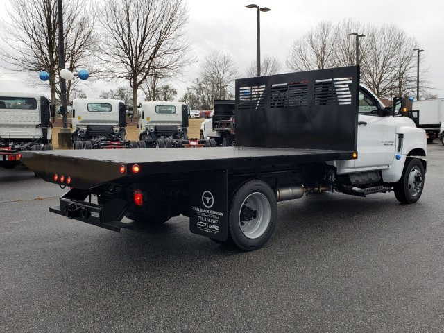 2019 Silverado Medium Duty Regular Cab DRW 4x2, Commercial Truck & Van Equipment Platform Body #M1990085 - photo 2