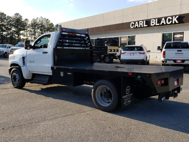 2019 Silverado Medium Duty Regular Cab DRW 4x2, Commercial Truck & Van Equipment Gooseneck Platform Body #M1990086 - photo 2