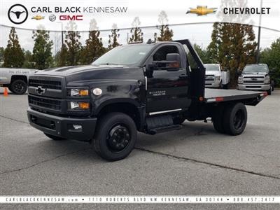 2019 Silverado Medium Duty Regular Cab DRW 4x2, Ingram Truck Body Platform Body #M1990110 - photo 1