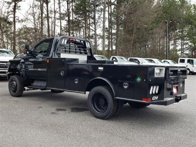 2019 Silverado Medium Duty Regular Cab DRW 4x4, CM Truck Beds TM Model Platform Body #M1990112 - photo 2