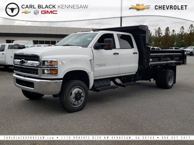 2019 Chevrolet Silverado Medium Duty Crew Cab DRW 4x4, Rugby Dump Body #M1990130 - photo 1