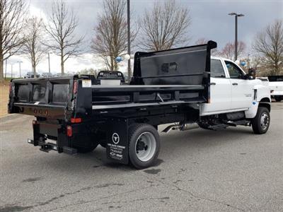 2019 Silverado Medium Duty Crew Cab DRW 4x4, Rugby Eliminator LP Steel Dump Body #M1990130 - photo 2