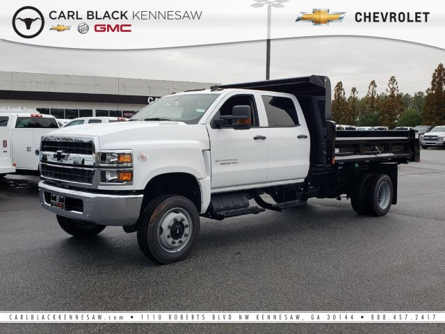 2019 Silverado Medium Duty Crew Cab DRW 4x4, Rugby Dump Body #M1990131 - photo 1