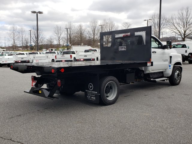 2019 Silverado Medium Duty Regular Cab DRW 4x2, Monroe Work-A-Hauler II Platform Body #M1990135 - photo 7