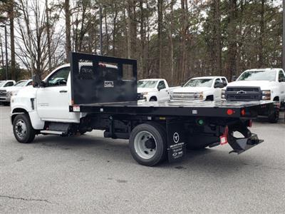 2019 Silverado Medium Duty Regular Cab DRW 4x2, Monroe Work-A-Hauler II Platform Body #M1990135 - photo 2
