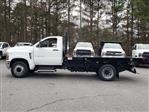 2019 Silverado Medium Duty Regular Cab DRW 4x2, Monroe Work-A-Hauler II Platform Body #M1990135 - photo 3