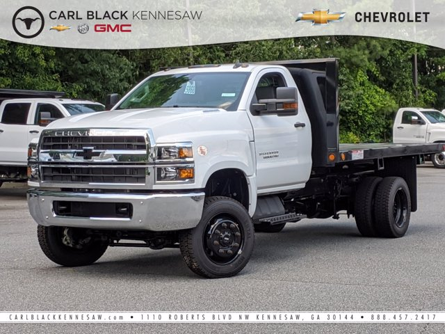 2019 Chevrolet Silverado Medium Duty Regular Cab DRW 4x4, Southern Coach Platform Body #M1990142 - photo 1