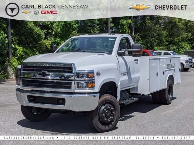 2019 Chevrolet Silverado Medium Duty Regular Cab DRW 4x4, Reading Service Body #M1990143 - photo 1