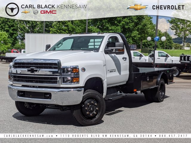 2019 Chevrolet Silverado Medium Duty Regular Cab DRW 4x4, CM Truck Beds Platform Body #M1990144 - photo 1
