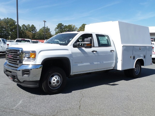 2016 Sierra 3500 Crew Cab, Reading Service Utility Van #1361785 - photo 3