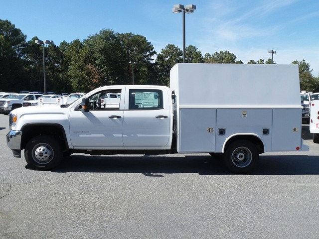 2016 Sierra 3500 Crew Cab, Reading Service Utility Van #1361785 - photo 4