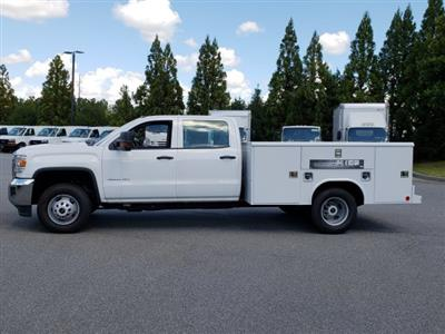 2017 Sierra 3500 Crew Cab DRW 4x2,  Reading Classic II Steel Service Body #1371968 - photo 3