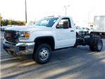 2018 Sierra 3500 Regular Cab DRW 4x4 Cab Chassis #1380065 - photo 1