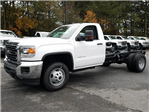 2018 Sierra 3500 Regular Cab DRW 4x4 Cab Chassis #1380140 - photo 1