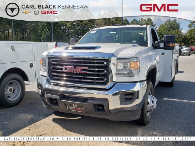 2018 Sierra 3500 Regular Cab DRW 4x4,  Monroe Service Body #13811085 - photo 1