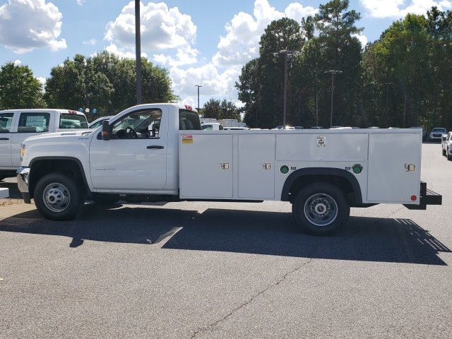 2018 Sierra 3500 Regular Cab DRW 4x4,  Monroe MSS II Service Body #13811085 - photo 2