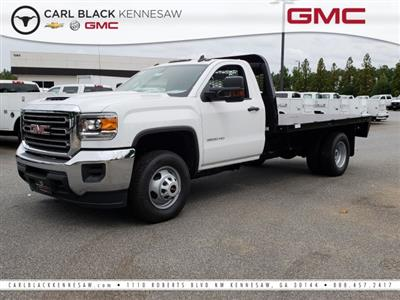 2018 Sierra 3500 Regular Cab DRW 4x2,  Knapheide PGNB Gooseneck Platform Body #1381247 - photo 1