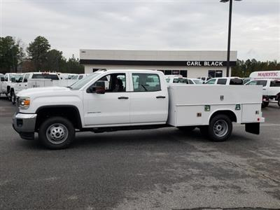 2019 Sierra 3500 Crew Cab DRW 4x2,  Reading Classic II Steel Service Body #1390308 - photo 2
