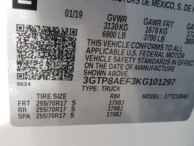 2019 Sierra 1500 Crew Cab 4x2,  Pickup #1390664 - photo 8