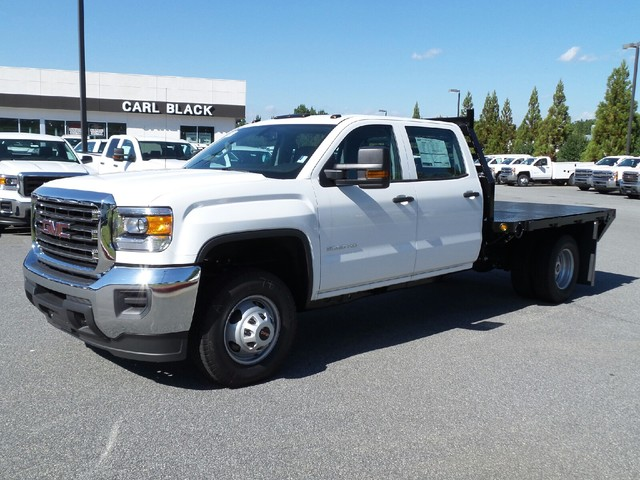 2015 Sierra 3500 Crew Cab, Commercial Truck & Van Equipment Platform Body #52420 - photo 3