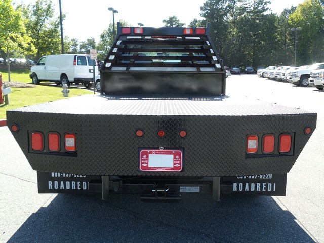 2015 Sierra 3500 Crew Cab, Commercial Truck & Van Equipment Platform Body #52420 - photo 9