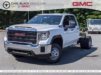 2020 GMC Sierra 3500 Double Cab 4x4, Cab Chassis #F1300617 - photo 1