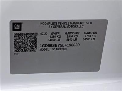 2020 GMC Sierra 3500 Double Cab 4x4, Cab Chassis #F1300618 - photo 22