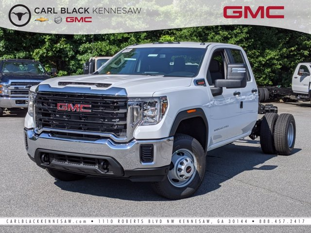 2020 GMC Sierra 3500 Double Cab 4x4, Cab Chassis #F1300619 - photo 1