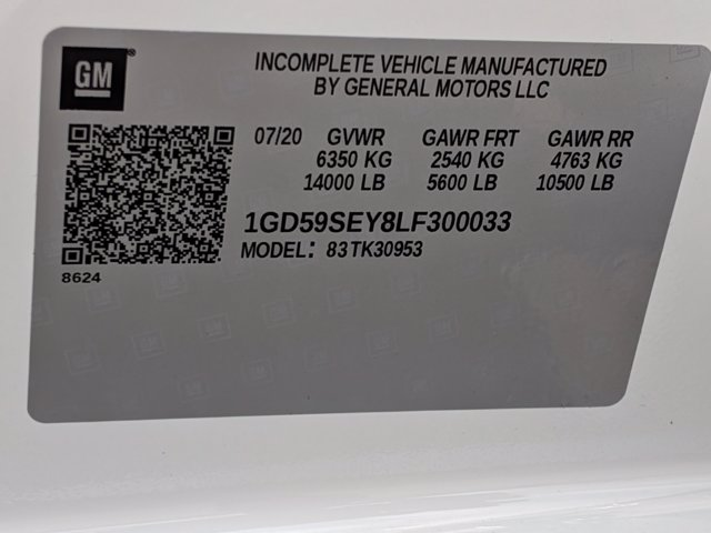 2020 GMC Sierra 3500 Double Cab 4x4, Cab Chassis #F1300621 - photo 22