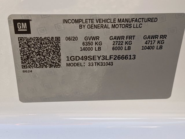 2020 GMC Sierra 3500 Crew Cab 4x4, Reading Panel Service Body #F1300638 - photo 23