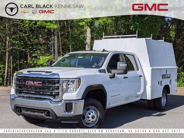 2021 GMC Sierra 3500 Crew Cab 4x4, Reading Service Body #F1310735 - photo 1