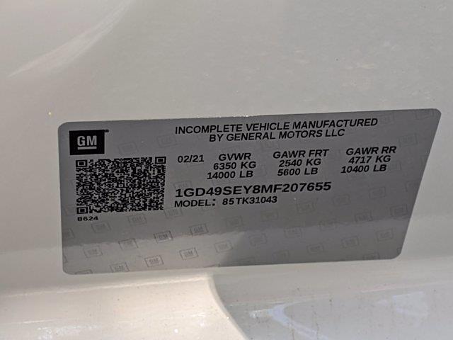 2021 GMC Sierra 3500 Crew Cab 4x4, Service Body #F1310965 - photo 30