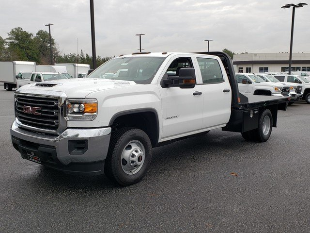 2019 Sierra 3500 Crew Cab DRW 4x2,  CM Truck Beds Platform Body #F1390777 - photo 1