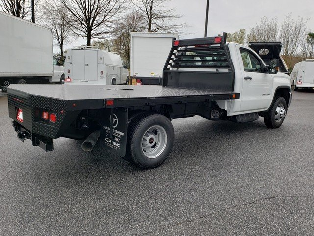 2019 Sierra 3500 Regular Cab DRW 4x4,  Commercial Truck & Van Equipment Platform Body #F1390779 - photo 1