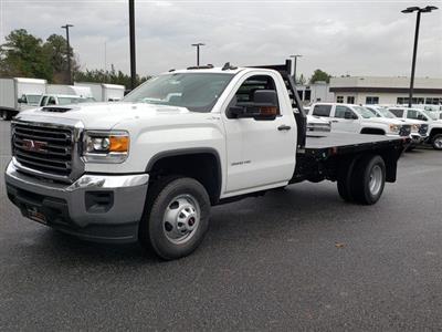 2019 Sierra 3500 Regular Cab DRW 4x4,  Commercial Truck & Van Equipment Gooseneck Platform Body #F1390779 - photo 1
