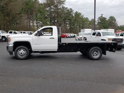 2019 Sierra 3500 Regular Cab DRW 4x4,  Commercial Truck & Van Equipment Gooseneck Platform Body #F1390779 - photo 3