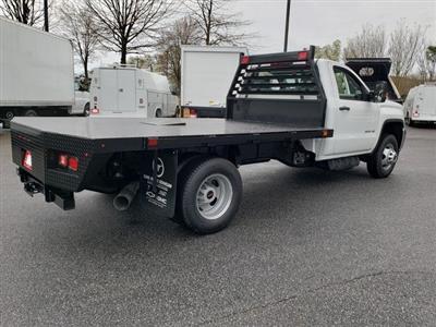 2019 Sierra 3500 Regular Cab DRW 4x4,  Commercial Truck & Van Equipment Gooseneck Platform Body #F1390779 - photo 2