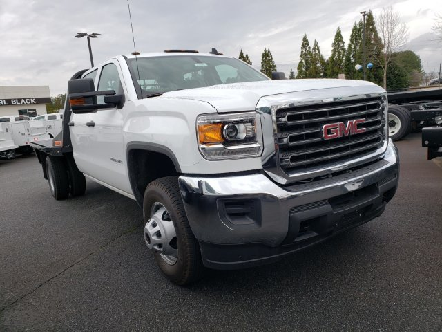 2019 Sierra 3500 Crew Cab DRW 4x2,  CM Truck Beds Platform Body #F1390860 - photo 1