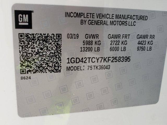 2019 Sierra 3500 Crew Cab DRW 4x4,  Hillsboro GII Steel Platform Body #F1390999 - photo 7
