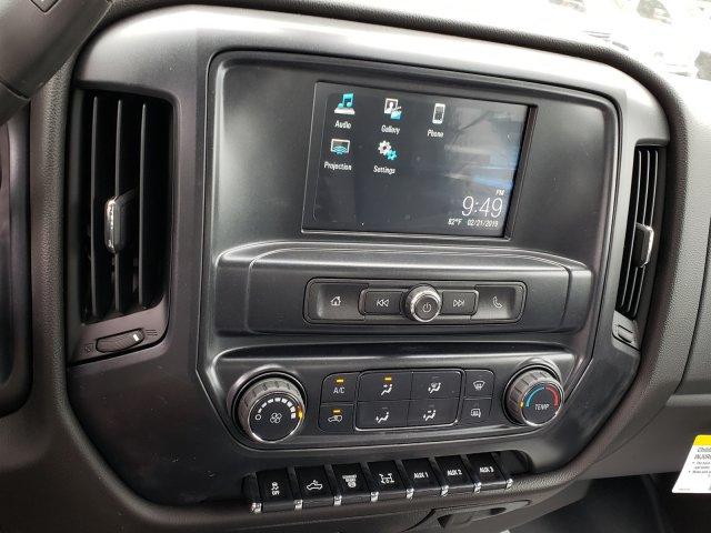 2019 Sierra 3500 Crew Cab DRW 4x4,  Hillsboro GII Steel Platform Body #F1390999 - photo 8