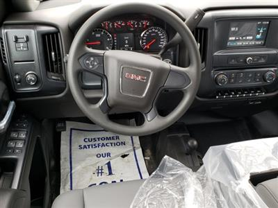 2019 Sierra 3500 Crew Cab DRW 4x4,  Hillsboro GII Steel Platform Body #F1391003 - photo 7