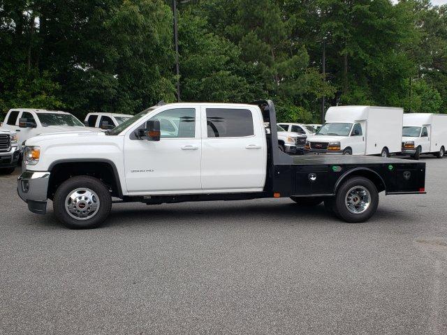 2019 Sierra 3500 Crew Cab DRW 4x2,  CM Truck Beds Platform Body #F1391029 - photo 1